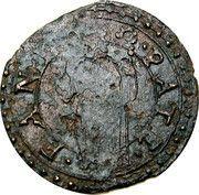 1 Quattrino - Gregorio XIII – reverse