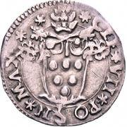 ½ Giulio - Clement VII – obverse