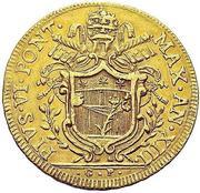 5 Zecchini - Pius VI – obverse