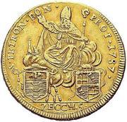 5 Zecchini - Pius VI – reverse