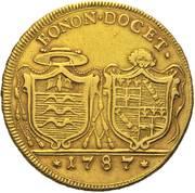 4 Doppie D'oro - Pius VI – reverse