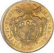10 Zecchini - Pius VI – obverse