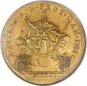10 Zecchini - Pius VI – reverse