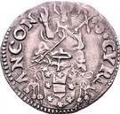 ½ Giulio - Clement VII – reverse