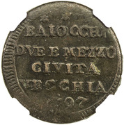 2½ Baiocchi - Sanpietrino – reverse