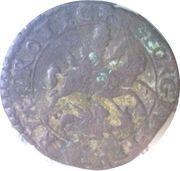 1 Quattrino - Gregory XV – reverse