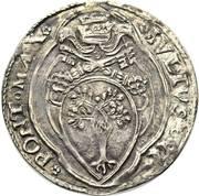 1 Giulio - Julius II – obverse