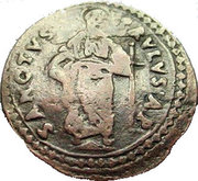 1 Quattrino - Innocent XI (St. Paul) – reverse