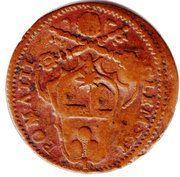 1 Quattrino - Clement XI – reverse