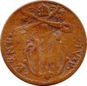 1 Quattrino - Benedict XIV (St. Ubaldo) – obverse