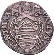 1 Giulio - Paul IV – obverse