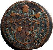 ½ Baiocco - Pius VI – obverse