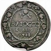 1 Baiocco - Benedict XIII – reverse