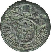 1 Quattrino - Pius VI – obverse