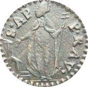 1 Quattrino - Benedictus XIV – reverse