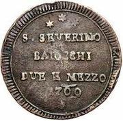 2 ½ Baiocchi – obverse