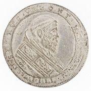 1 Piastra - Sixtus V – obverse