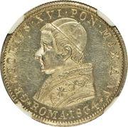 20 Baiocchi - Gregory XVI -  obverse