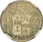 20 Baiocchi - Gregory XVI -  reverse