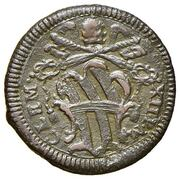 1 Quattrino - Clement XII (St. Paul - standing) – obverse