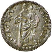 1 Quattrino - Clement XII (St. Paul - standing) – reverse