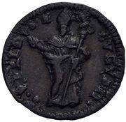 1 Quattrino - Clement XII (St. Ubaldo - standing, mitred) – reverse