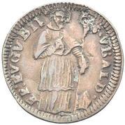 1 Quattrino - Clement XII (St. Ubaldo - standing, bare head) – reverse
