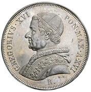 50 Baiocchi - Gregorio XVI – obverse