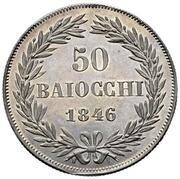 50 Baiocchi - Gregorio XVI – reverse