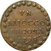 1 Baiocco - Pius VI – reverse