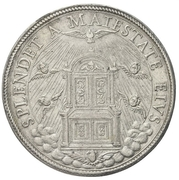 1 Piastra - Clement IX – reverse