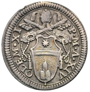 1 Grosso - Clement XI – obverse