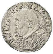 1 Testone - Paul V (St. Paul) – obverse