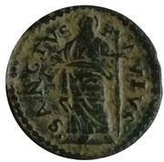 1 Quattrino - Alessandro VII – reverse