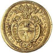 1 Scudo d'Oro - Clemente XI – obverse