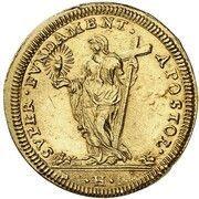 1 Scudo d'Oro - Clemente XI – reverse