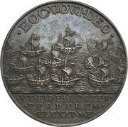 Medal - Callixtus III (Vow to Liberate Constantinople and Jerusalem from the Turks) – reverse