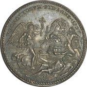 Medal - Pope Gregory XIII (Slaughter of the Huguenots) – reverse