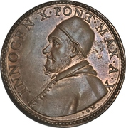 Medal - Innocent X (Capitoline Palace) – obverse