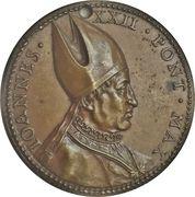 Medal - John XXII (Patriarchic restitution) – obverse