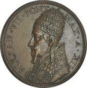 Medal - Alexander VII (Renovation of the Hospital of the Holy Spirit) – obverse