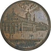 Medal - Alexander VII (Renovation of the Hospital of the Holy Spirit) – reverse