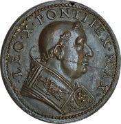 Medal - Leo X (Liberalitas Pontificia) – obverse