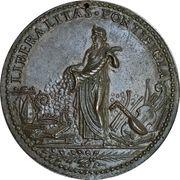 Medal - Leo X (Liberalitas Pontificia) – reverse