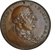 Medal - Clement V (Restitution of the Pope's) – obverse