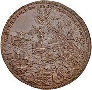 Medal - Pius V (Naval battle of Lepanto) – reverse