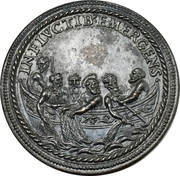 Medal - Pope Sixtus V (Saint Peter on a boat) – reverse