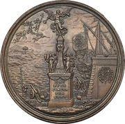 Medal - Tribute to Ludovico Fernandez Portocarrero – reverse