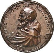Medal - Pius V (Jesus Christ) – obverse