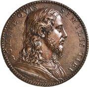 Medal - Pius V (Jesus Christ) – reverse